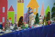 Выставки елочных игрушек и новогодних поделок